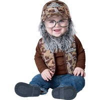 Duck Dynasty Uncle Si Costume - Baby (Brown)