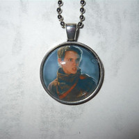 Once Upon a Time Peter Pan pendant necklace - Neverland, Lost Boys, Tinkerbell, Captain Hook, fairy tale, Robbie Kay, magic dark, dreamshade