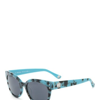 Juicy Couture Round Frame Coin Sunglasses