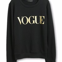 VOGUE Pullover Sweatshirt