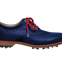 Men's Collection > The Blue: Royal Albartross Luxury Golf Shoes