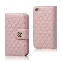 iphone 4 4s Pink designer wallet case purse pouch by MANGOCASE
