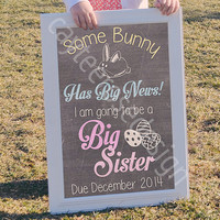 Easter Big Sister / Big Brother Announcement