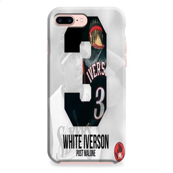 Post Malone White Iverson iPhone 8 | iPhone 8 Plus Case
