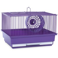 "Prevue Hendryx Single Story Purple Small Animal Cage, 14"" L X 11"" W X 8.75"" H 