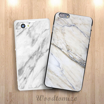 iPhone 6 white marble phone case, cool case for iPhone 4/4s/5/5s/5c, Samsung s3, s4, s4 active, S5, S5 active, Note 3, Note 4 (N26)