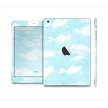 The Vintage Cloudy Skies Skin Set for the Apple iPad Mini 4