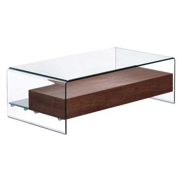 Shaman Coffee Table Walnut MDF