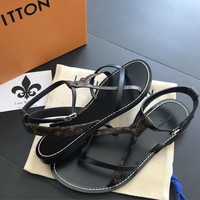 shosouvenir 【Louis Vuitton】LV woman Fashion casual sandals