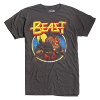 Disney Beauty And The Beast Metal T-Shirt