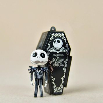 The Nightmare Before Christmas Jack with Pumpkin joker Skellington doll action figure figurine skeleton Anime Toy gifts