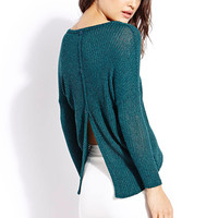 Off-Duty Sweater Top