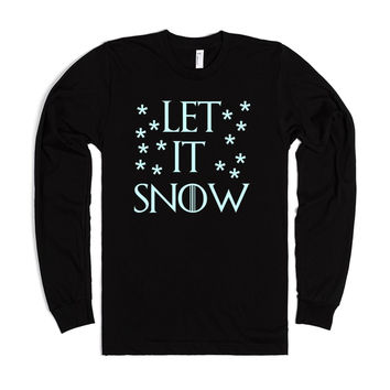 LET IT SNOW GAME OF THRONES WINTER CHRISTMAS