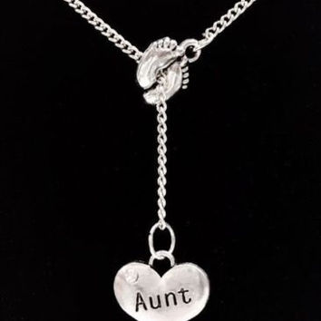 charm off print necklace kaboodle hand footprint heart large products foot gifts