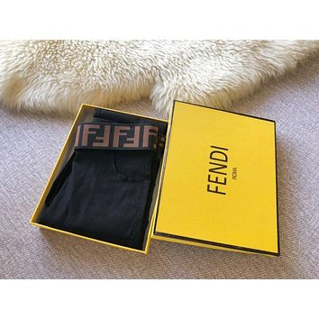 FENDI Fashion Women Leisure Letter Print Stretch Pants Trousers Leggings I13356-1