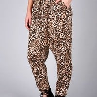 Cheetah Hammer Pants | Trendy Bottoms at Pink Ice