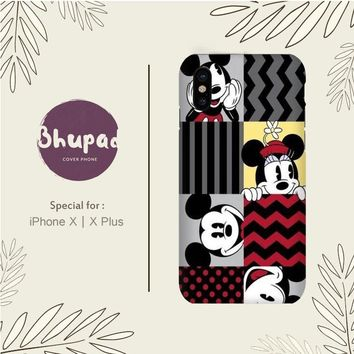 MICKEY MOUSE AND MINNIE MOUSE WALLPAPER IPHONE X