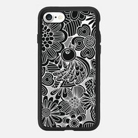 welcome black bird iPhone 7 Carcasa by Julia Grifol Diseñadora Modas-grafica | Casetify