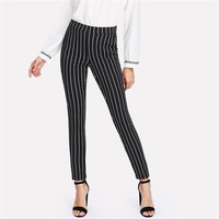 Striped Pencil Pants
