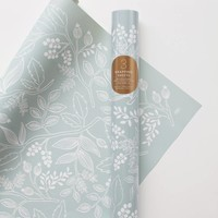 Spearmint Blossoms Wrapping Sheets by RIFLE PAPER Co. | Made in USA