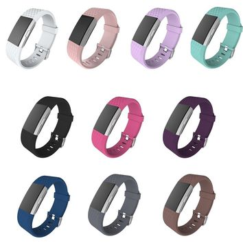 Replacement Strap Bracelet Soft Silicone Watch Band Wrist Strap For Fitbit Charge 2 Band Charge 2 Heart Rate Smart