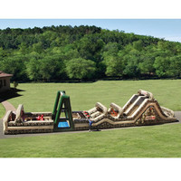 The 85 Foot Inflatable Military Obstacle Course - Hammacher Schlemmer FOLLOW AND ENJOY