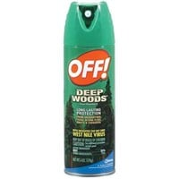 OFF! Deep Woods Insect Repellent V, 6 oz - Walmart.com