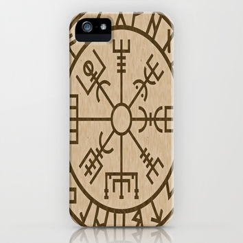 Old Norse Viking symbols of protection by healinglove iPhone & iPod Case by Healinglove art products