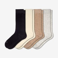 Women's Solids Calf & Ankle 8-Pack