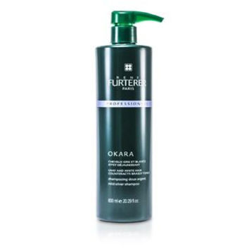 Okara Mild Silver Shampoo - For Gray and White Hair (Salon Product) - 600ml/20.29oz