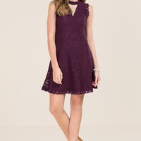 Mazie Gigi Surplus Lace A-Line Dress