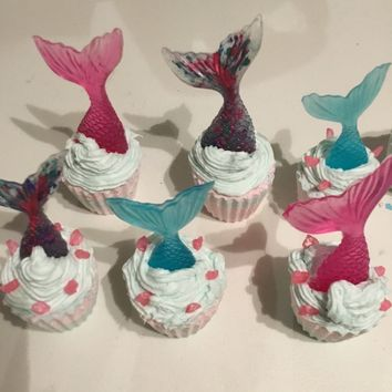 Mermaid tail bathbomb