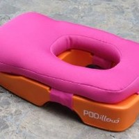 Podillow - The Perfect Face-down Tanning and Massage Pillow (Chatham Sunrise)