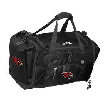 Arizona Cardinals NFL Roadblock Duffle Bag (Black)