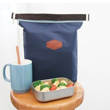 Tote Portable Insulated Lunch Box Pouch Cooler Waterproof Special Thermal Insulation Materia Storage Nylon Food Bag 23Jun 11