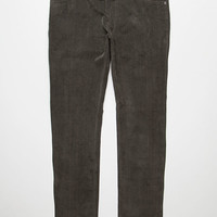 Rvca Daggers Cord Mens Pants Black  In Sizes