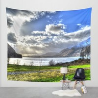 Scotland Wall Tapestry by Haroulita | Society6