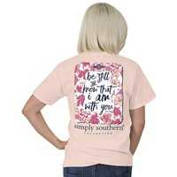 """Simply Southern """"Be Still"""" Short Sleeve Tee"""