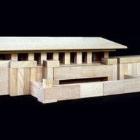 Frank Lloyd Wright Prairie House Block set
