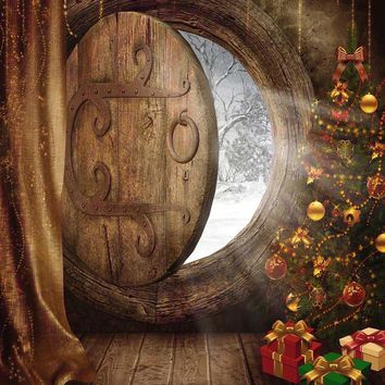 Hobbit Holiday Photo Backdrop / 9440