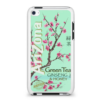 Arizona Green Tea SoftDrink iPod Touch 4 Case