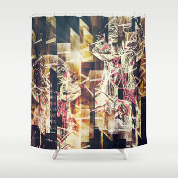 Metro kids Shower Curtain by HappyMelvin