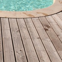 Wooden outdoor floor tiles DESIGN DESJOYAUX by Desjoyaux Italia