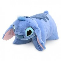 Disney Educational Products - Disney Stitch Pillow Pal Pet Plush Doll NEW - Disney Theme Park Authentic:Amazon:Toys & Games