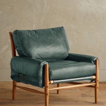 Premium Leather Rhys Chair