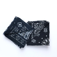 Sunbleached Bandanas - Black & Navy