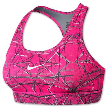 Women's Nike Pro Printed Sports Bra