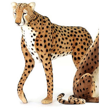 Hansa Life Size Standing Cheetah Stuffed Animal