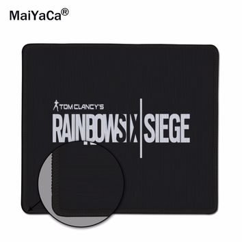 MaiYaCa Rainbow Six Siege OverLock Mouse Mat Pad para Mouse de Notebook Computador Mousepad Gaming Mouse Pad Presente Do Menino