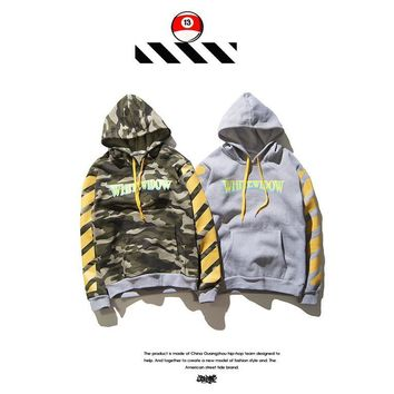 Hoodies Casual Camouflage Winter Stripes Hats [211449085964]